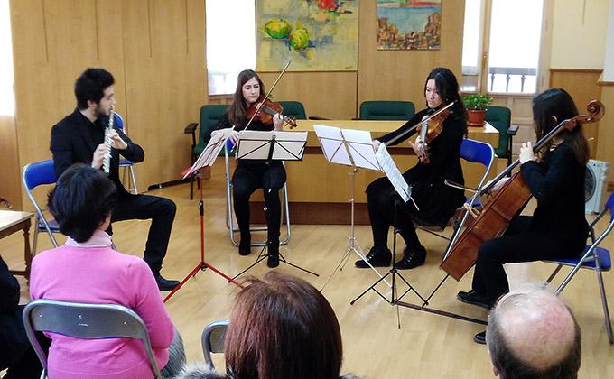 Centro Artístico y Orquesta Académica se comprometen a promover la Granada Musical