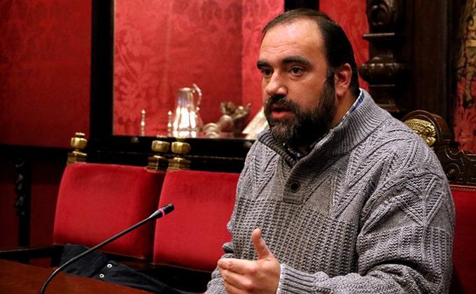 Paco Puentedura portavoz IU
