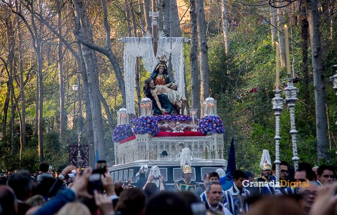 Sabado Santo Santa María de la Alhambra Semana Santa 2016 -18