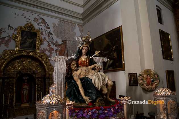 Sabado Santo Santa María de la Alhambra Semana Santa 2016 -2