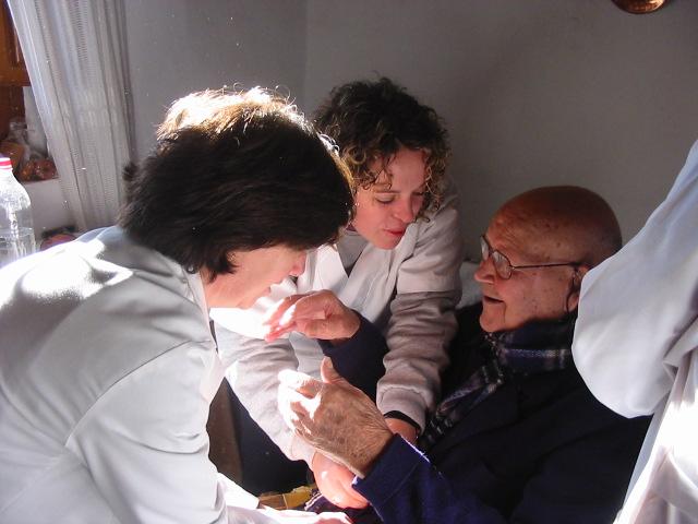 Servicios Sociales anciano