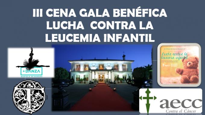 Granada se viste de gala en la III Cena a beneficio de la lucha contra la leucemia infantil