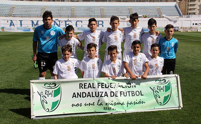 GRANADA ALEVIN 16 campeonato andaluz almuñecar