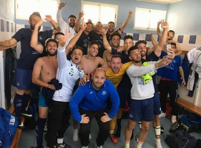 Puerto de Motril CF tras ganar pasada semana en  Dúrcal 22a