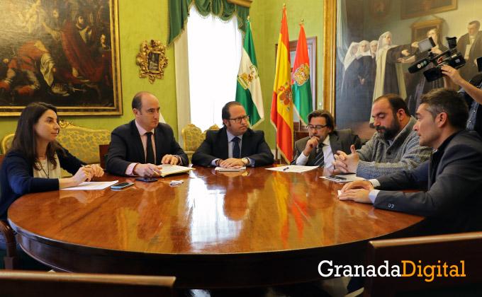 Reunión de portavoces - Cristina Chaparro