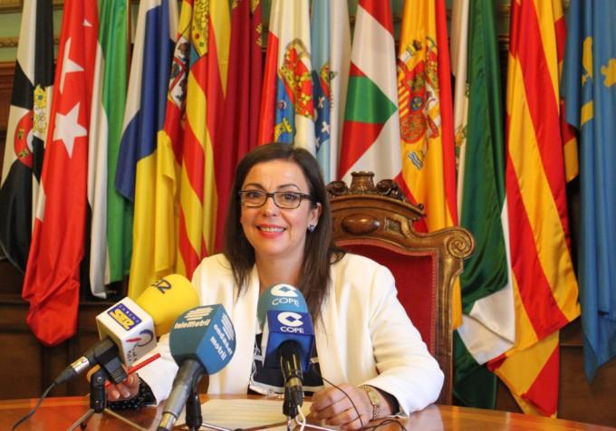 La teniente de alcalde y responsable de Turismo, Alicia Crespo