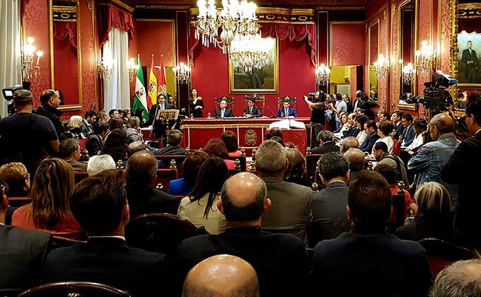 Pleno investidura general discurso portavoces