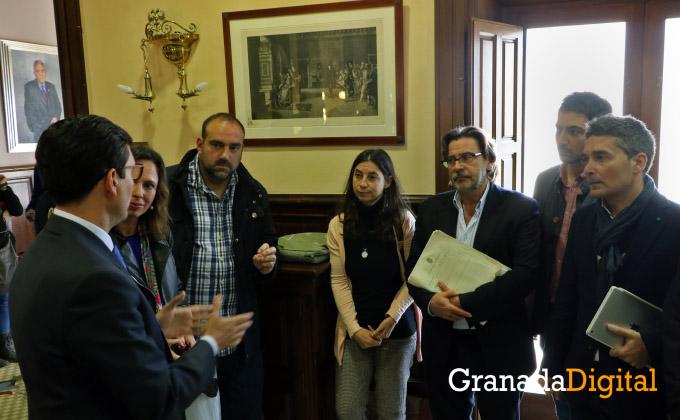 Portavoces Granada 3 - Cristina Chaparro