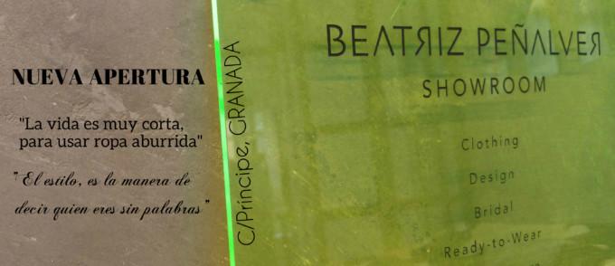 Llega a Granada el Atelier de BEATRIZ PEÑALVER