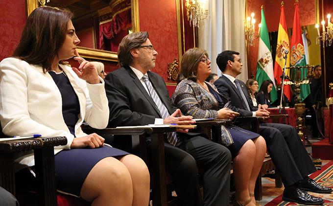 concejales del psoe gobierno raquel ruz baldomero oliver ana muñoz paco cuenca