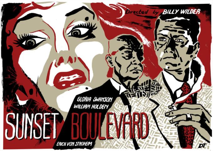 Sunset Boulevard o El crepúsculo del cine mudo