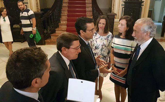 alcalde de granada- cuenca- secretario-estado infraestructuras-gomez-pomar