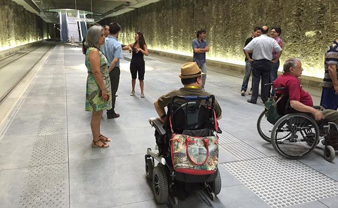 Accesibilidad metro
