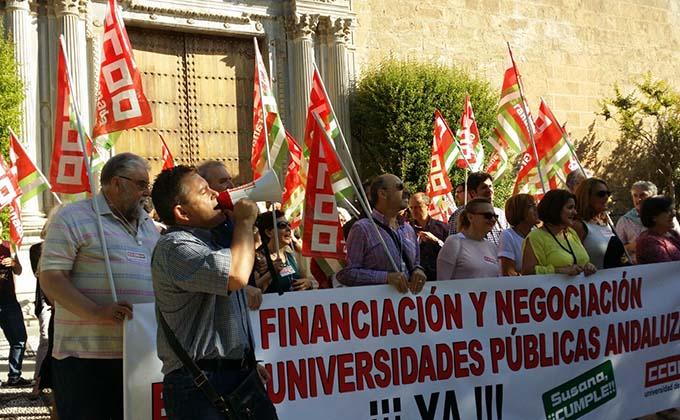 CCOO-UGR-manifestacion