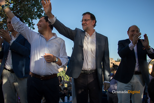 Camapaña 26J Rajoy Italianos San Nicolas Granada PP-11