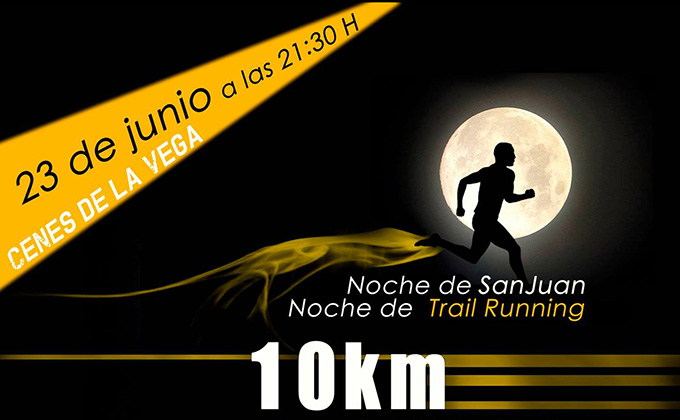 Cartel Trail Nocturno