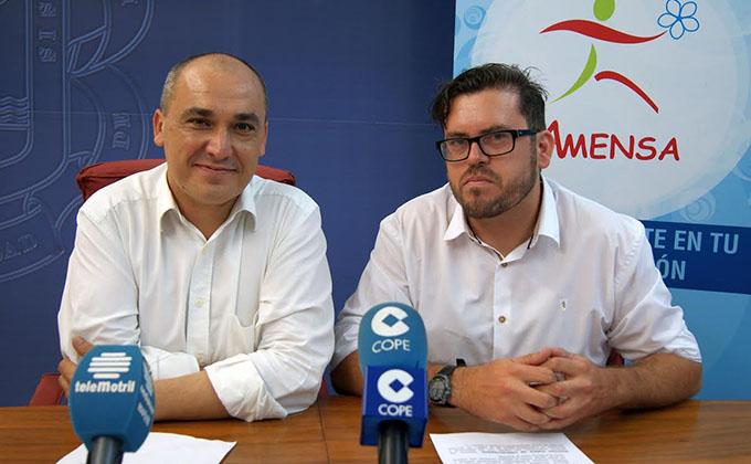 Gregorio Morales y Juan Antonio Almensa