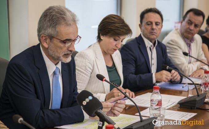 Traslado PTS Aquilino Alonso Sandra García Manuel Bayona Higinio Almagro
