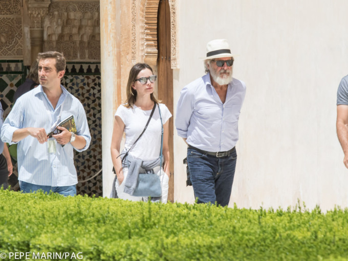 Harrison Ford visita alhambra