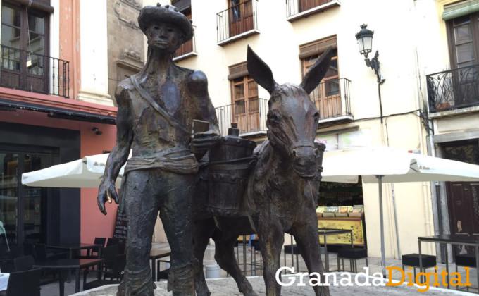 Aguaor estatua