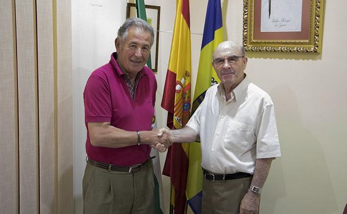 Alcalde y primer teniente de alcalde Ogijares