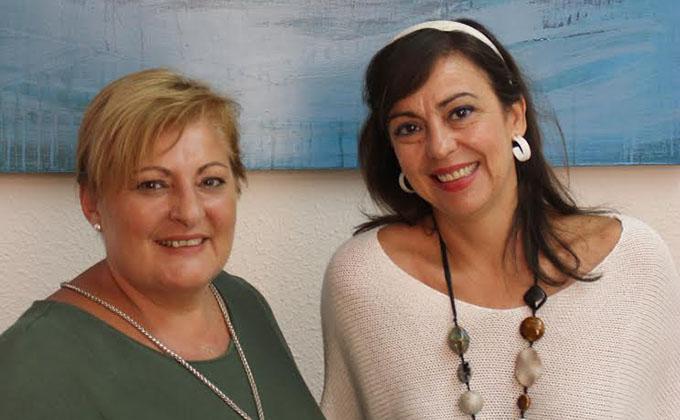 Alicia Crespo y Susana Feixas