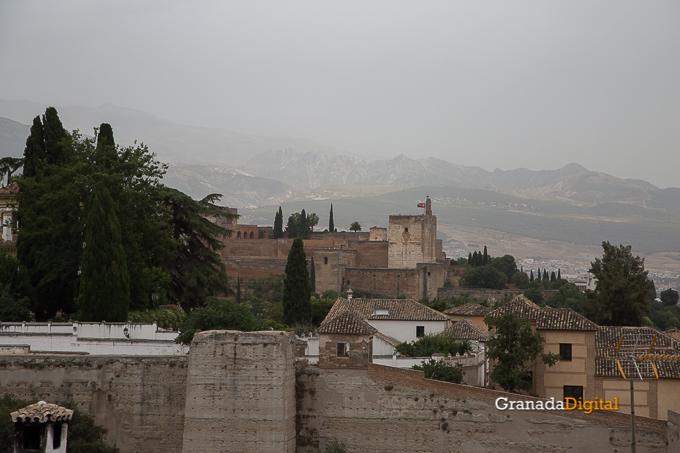 Calima Calor Granada miradores vistas-10 alhambra