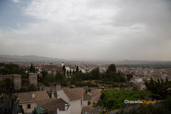 Calima Calor Granada miradores vistas-11