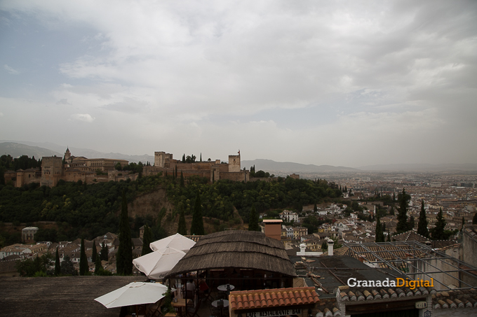 Calima Calor Granada miradores vistas-15 alhambra