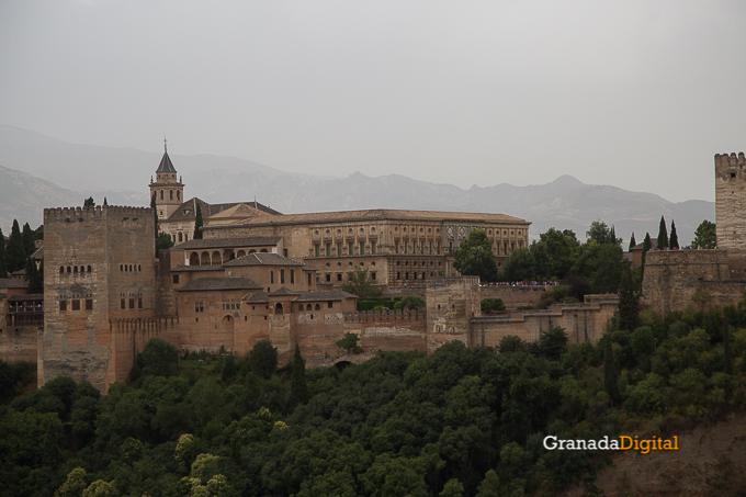 Calima Calor Granada miradores vistas-18 alhambra san nicolas carlos v