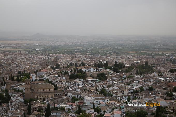 Calima Calor Granada miradores vistas-4