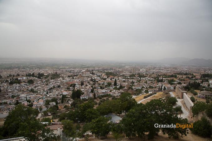 Calima Calor Granada miradores vistas-5