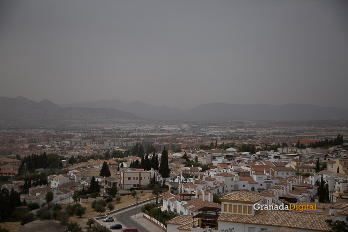 Calima Calor Granada miradores vistas-9