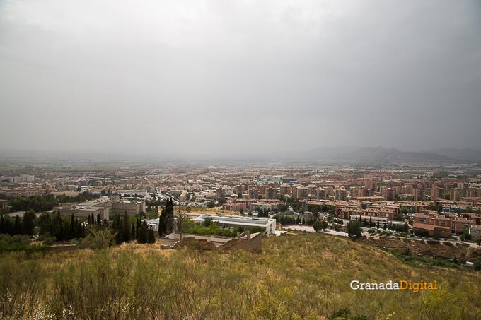 Calima Calor Granada miradores vistas