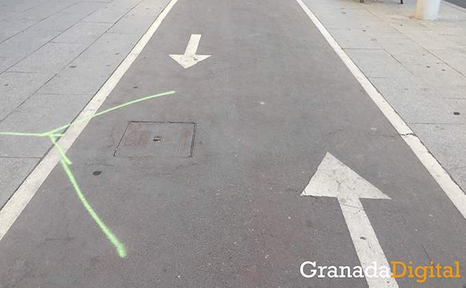 Carril bici doble sentido