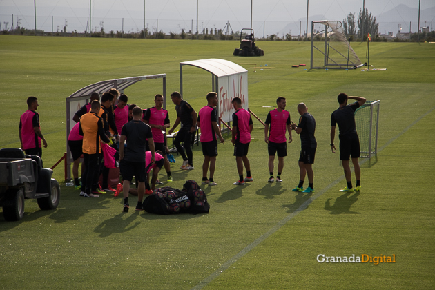 Primer entrenamiento Paco Jémez Granada CF Tito Boga ciudad deportiva-1