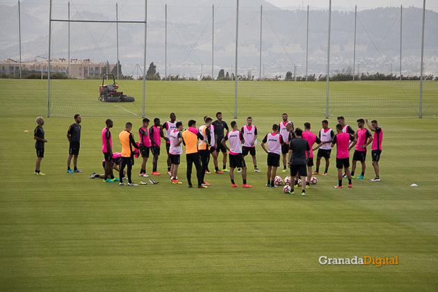 Primer entrenamiento Paco Jémez Granada CF Tito Boga ciudad deportiva-10