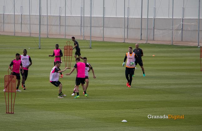 Primer entrenamiento Paco Jémez Granada CF Tito Boga ciudad deportiva-16