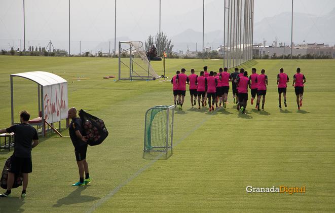 Primer entrenamiento Paco Jémez Granada CF Tito Boga ciudad deportiva-2