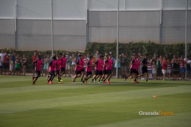 Primer entrenamiento Paco Jémez Granada CF Tito Boga ciudad deportiva-3