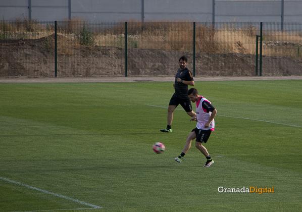 Primer entrenamiento Paco Jémez Granada CF Tito Boga ciudad deportiva-6