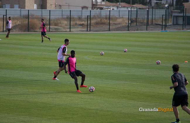 Primer entrenamiento Paco Jémez Granada CF Tito Boga ciudad deportiva-8