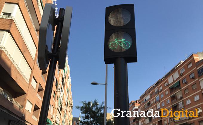 Semáforo carril bici