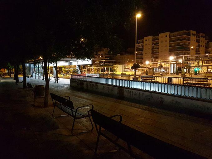 plaza caleta noche