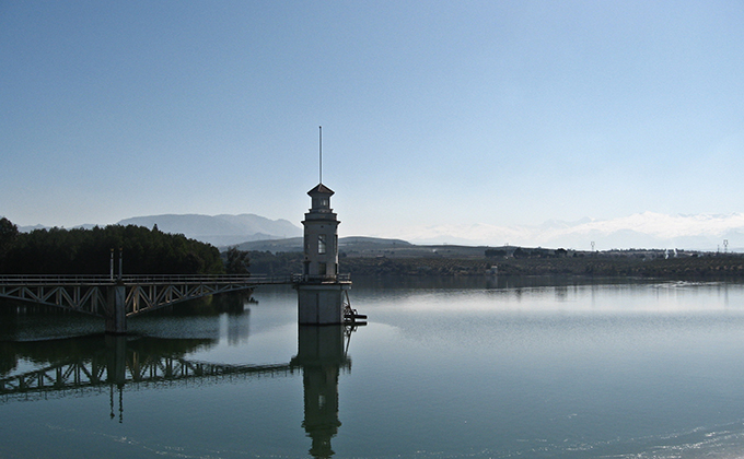 Embalse de Cubillas (Granada)