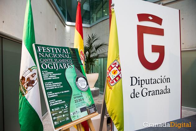 FOTOS PRESENTACION FESTIVAL FLAMENCO OGIJARES - DANI B