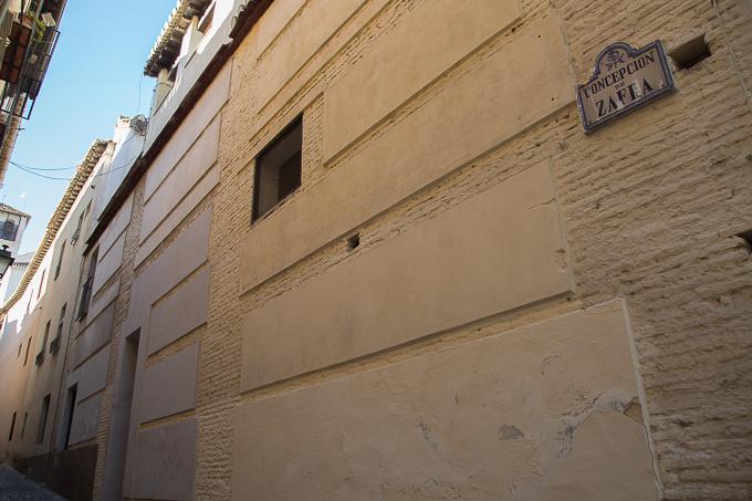 casa zafra BIC pintadas caámras albaicín