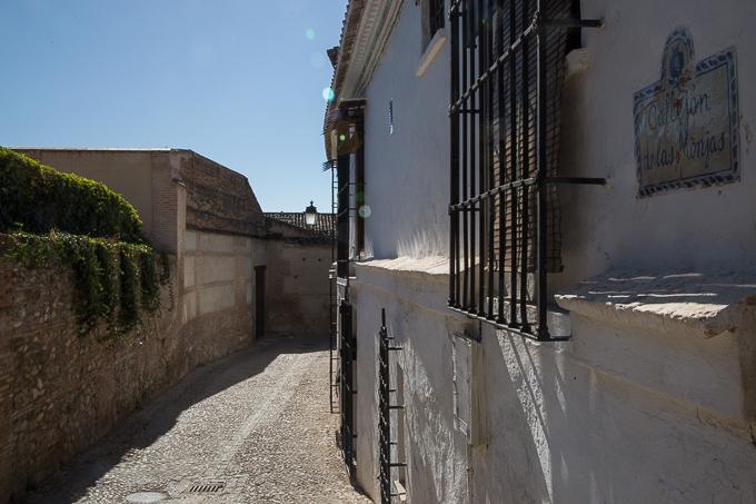 palacio dar al horra arco de las montas BIC pintadas caámras albaicín