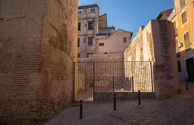 puerta elvira BIC pintadas caámras albaicín-5