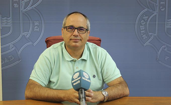 El edil de Participación Ciudadana David Martín